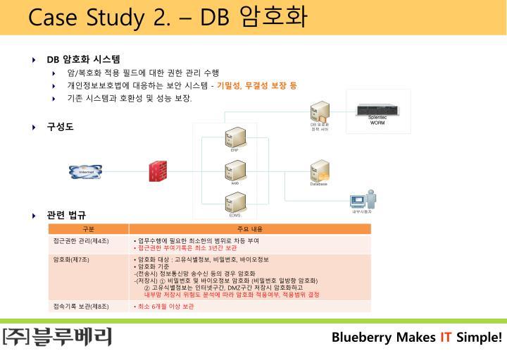 Case Study 2. – DB