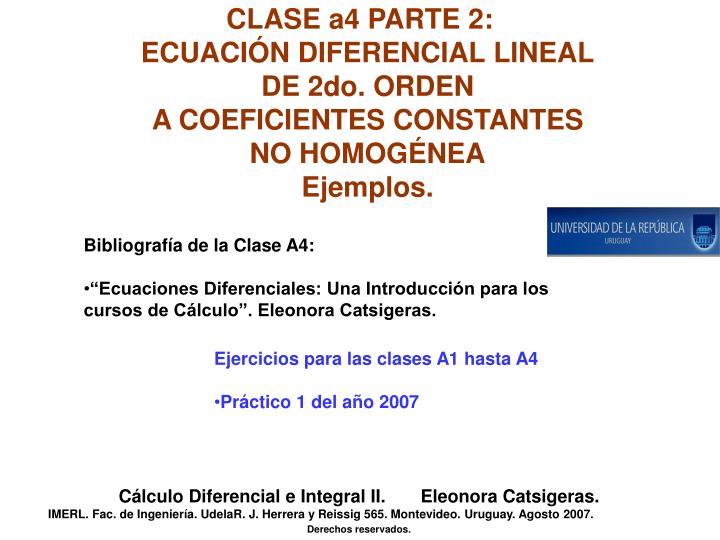 CLASE a4 PARTE 2: