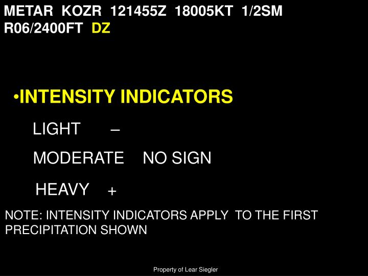 METAR  KOZR  121455Z  18005KT  1/2SM  R06/2400FT