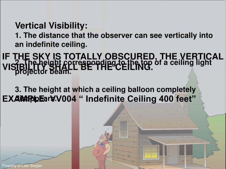 Vertical Visibility: