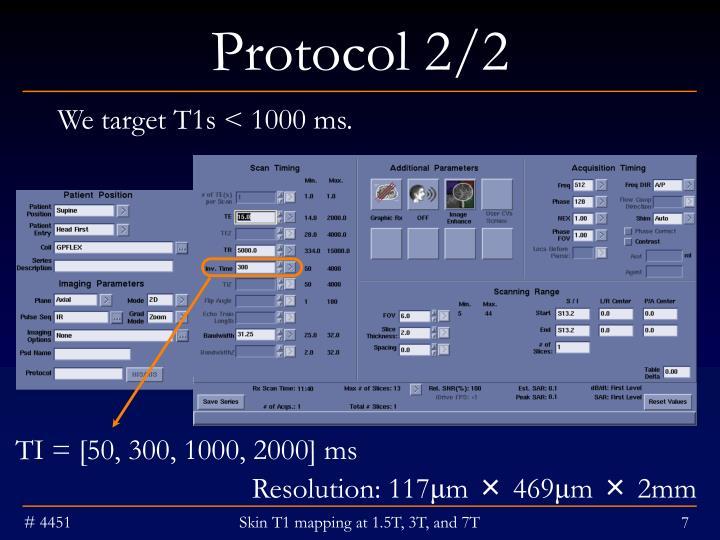 Protocol 2/2