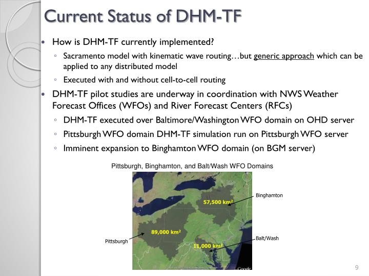 Current Status of DHM-TF