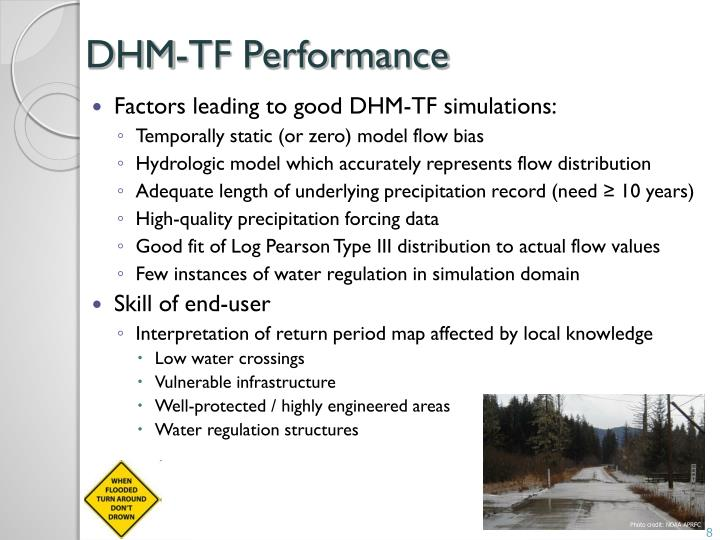 DHM-TF Performance