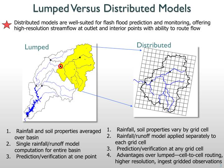 Lumped Versus Distributed Models