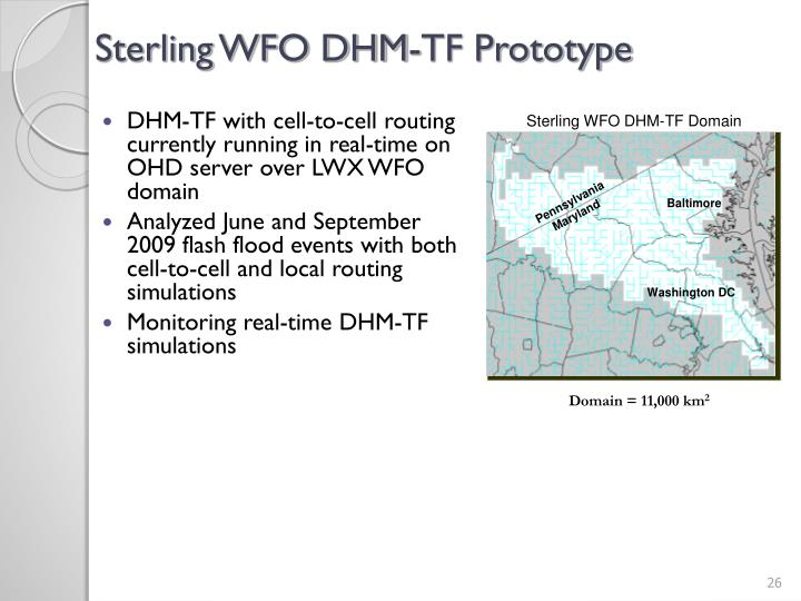 Sterling WFO DHM-TF Prototype