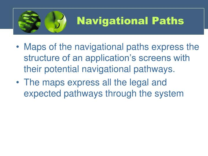 Navigational Paths