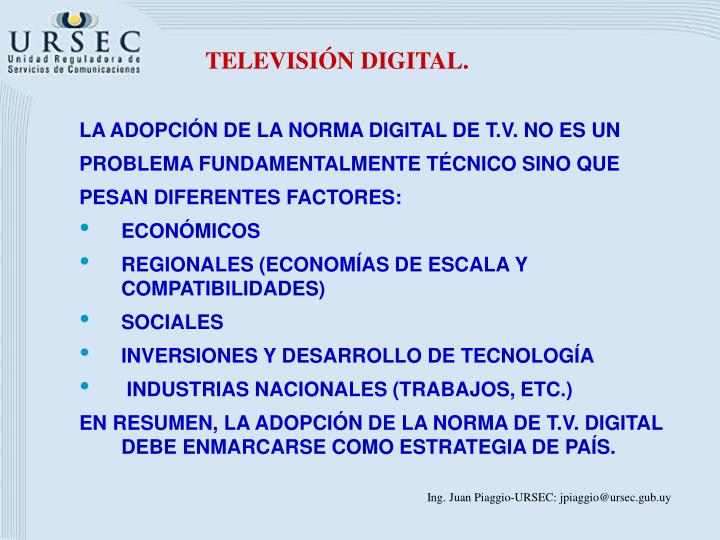 TELEVISIÓN DIGITAL.