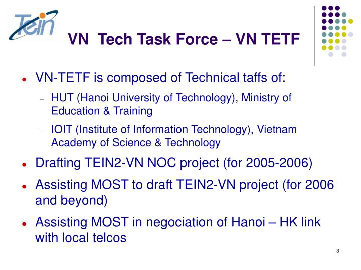 Vn tech task force vn tetf