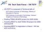 vn tech task force vn tetf