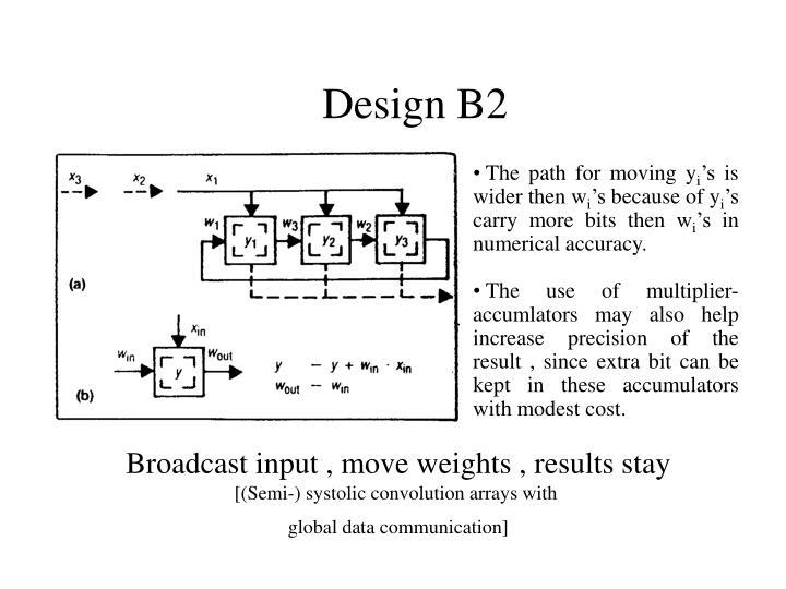 Design B2
