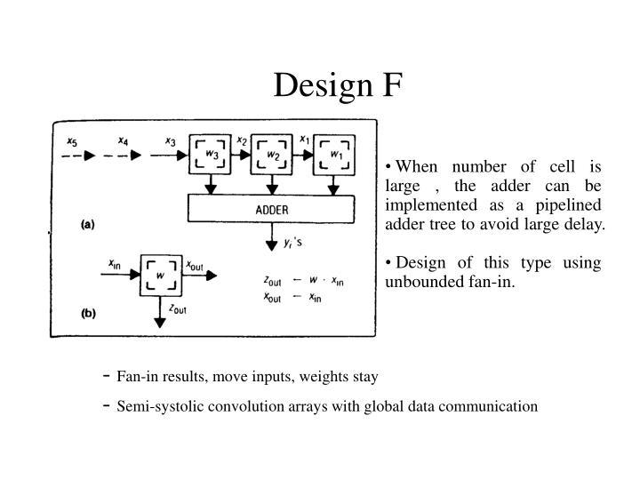 Design F