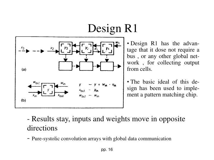 Design R1