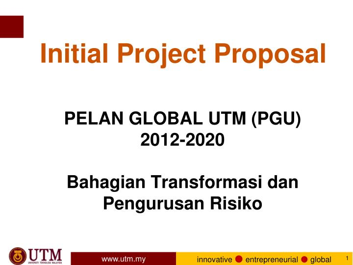 Initial Project Proposal