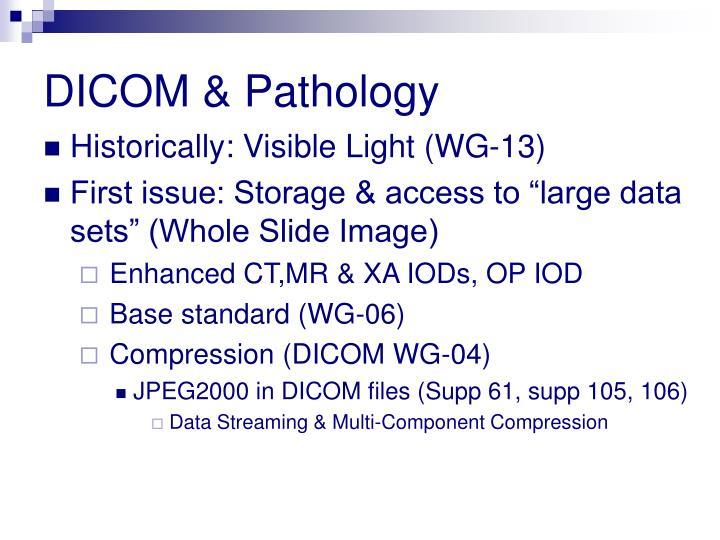 DICOM & Pathology