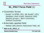 dl poly force field b