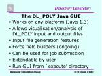 the dl poly java gui1