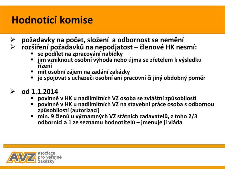 Hodnotící komise
