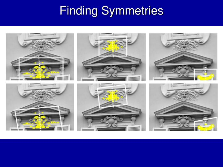 Finding Symmetries