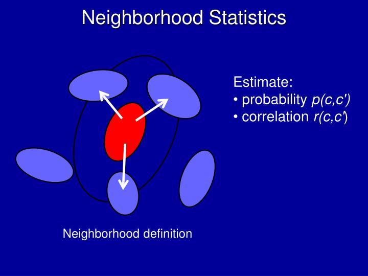 Neighborhood Statistics