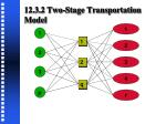 12 3 2 two stage transportation model