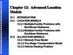 chapter 12 advanced location models1