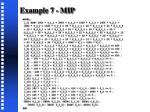 example 7 mip