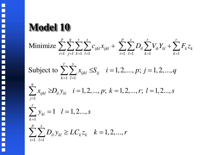 Model 10