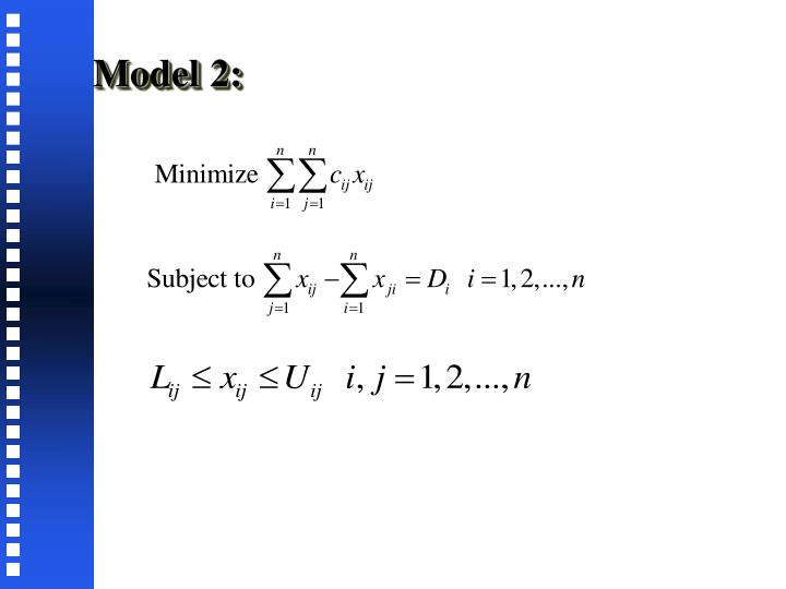 Model 2: