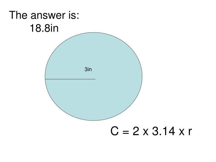 The answer is:  18.8in