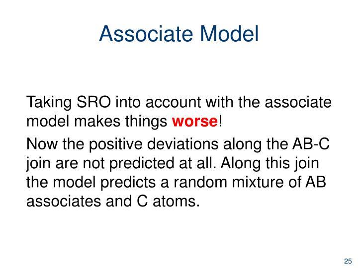 Associate Model
