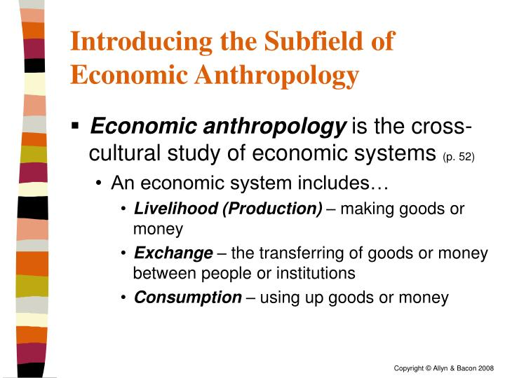 research in economic anthropology The behavioral ecology and economic decisions lab (beedl), directed by dr bram tucker, provides workspace and resources for students interested in economic decision-making and behavior in global contexts.