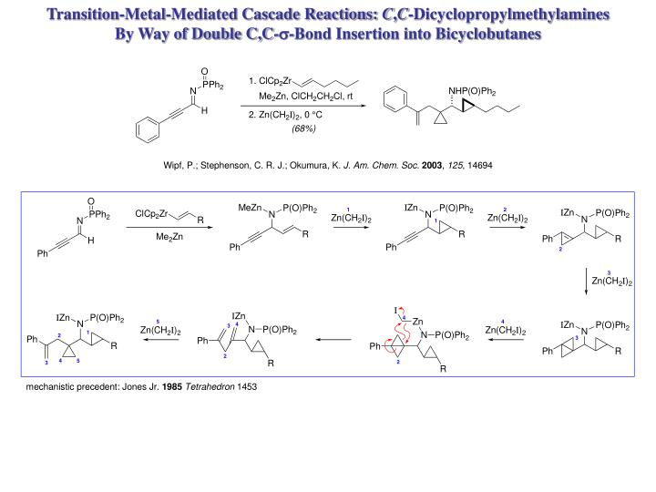 Transition-Metal-Mediated Cascade Reactions: