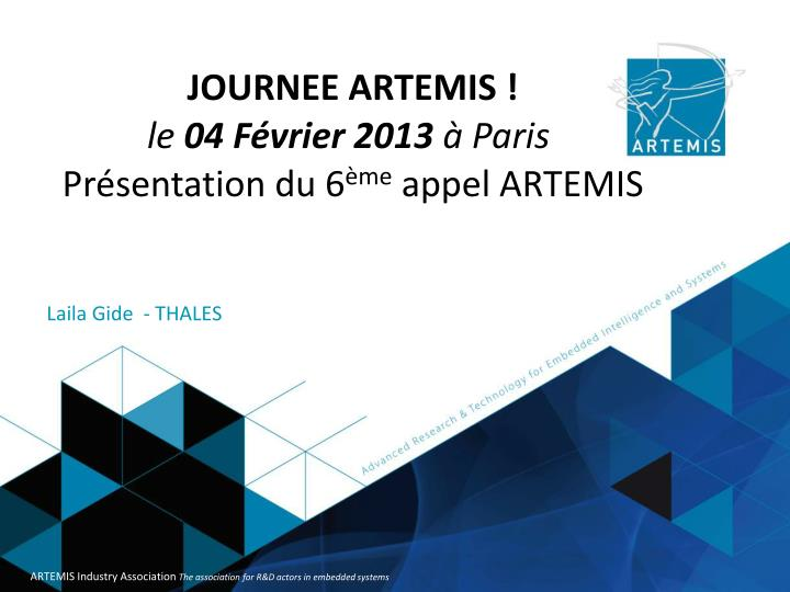 JOURNEE ARTEMIS !