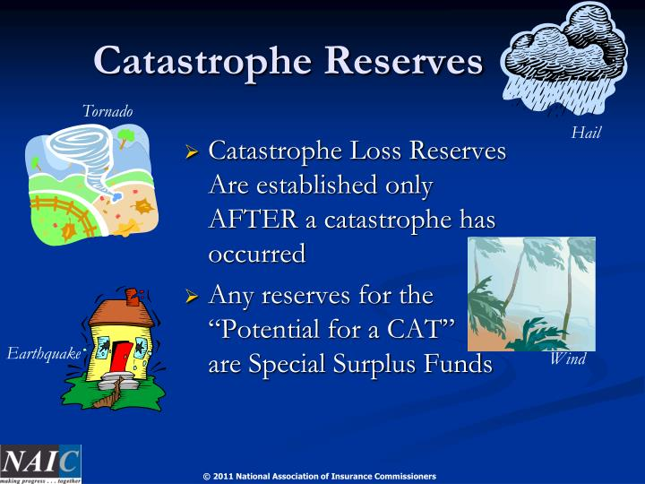 Catastrophe Reserves