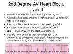 2nd degree av heart block type ii
