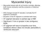 myocardial injury