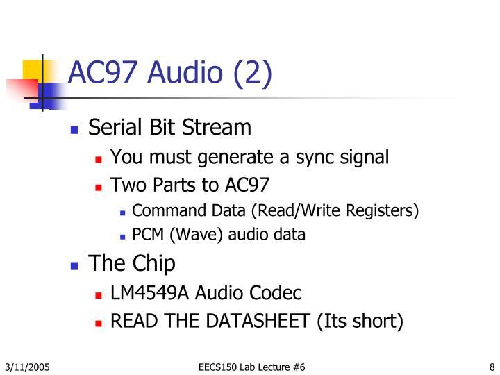 AC97 Audio (2)