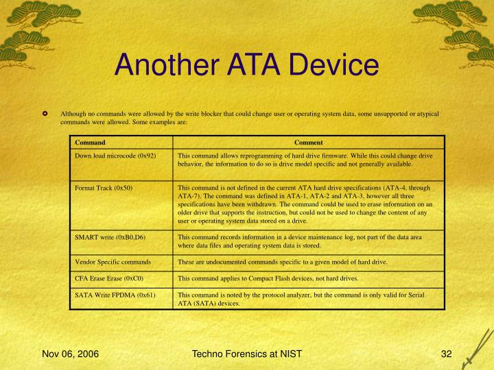 Another ATA Device