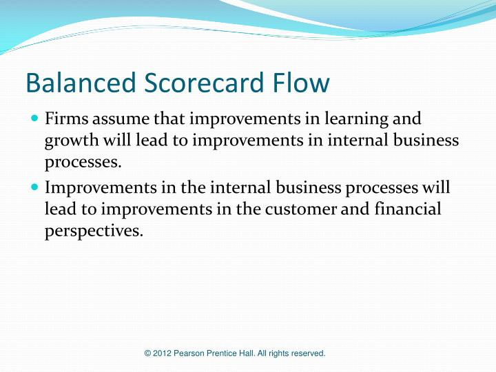 Balanced Scorecard Flow