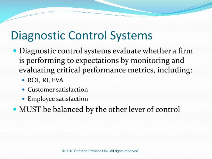 Diagnostic Control Systems