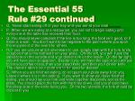 the essential 55 rule 29 continued3
