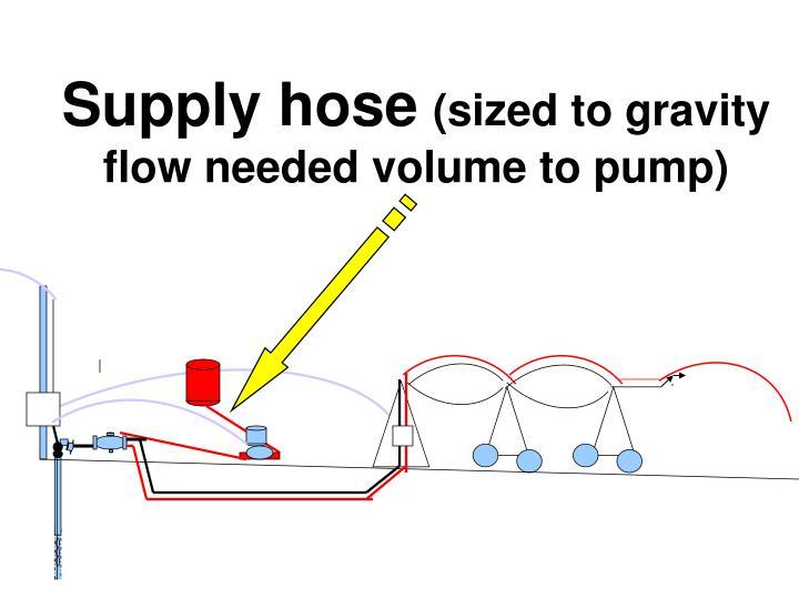 Supply hose