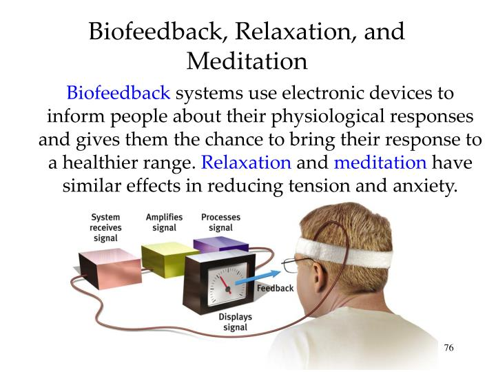 Biofeedback, Relaxation, and Meditation
