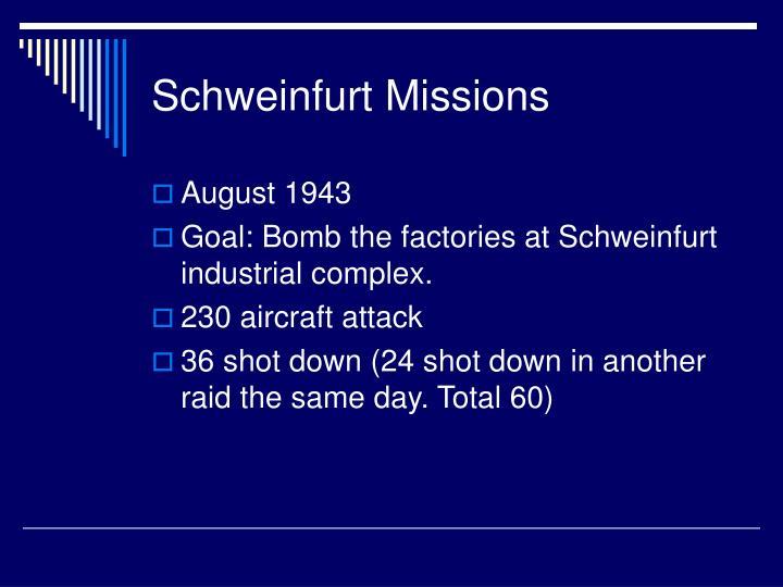 Schweinfurt Missions