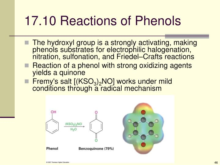 17.10 Reactions of Phenols