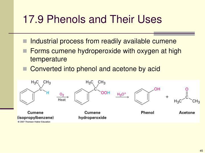 17.9 Phenols