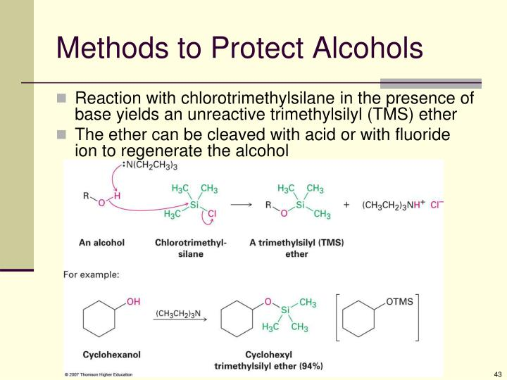 Methods to Protect Alcohols