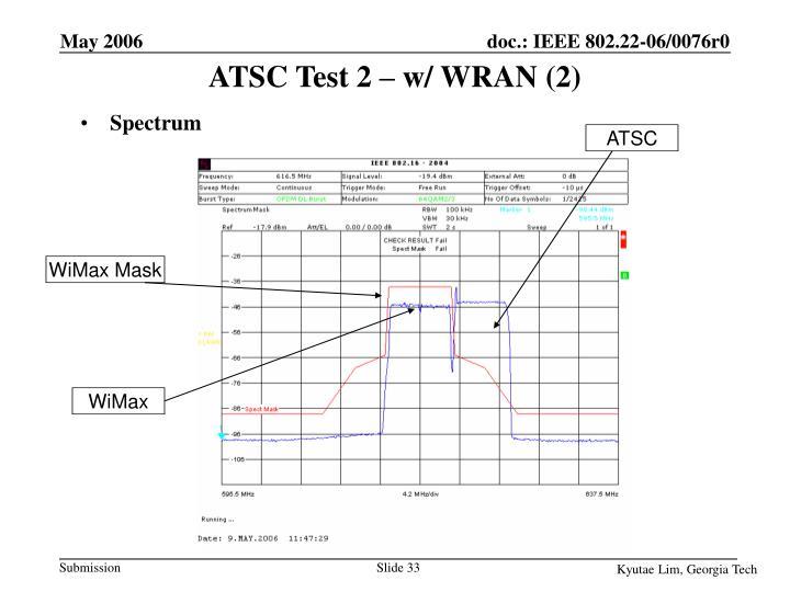 ATSC Test 2 – w/ WRAN (2)