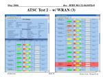 atsc test 2 w wran 3