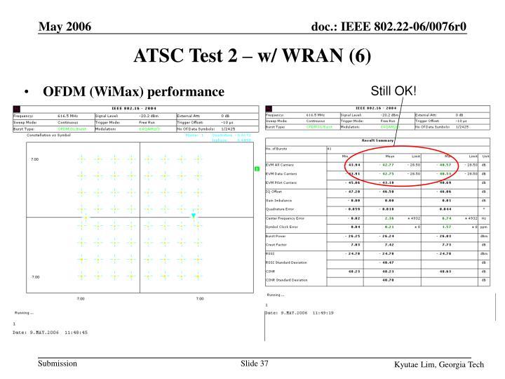 ATSC Test 2 – w/ WRAN (6)